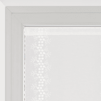 Tendina a vetro per finestra Aida naturale 60 x 160 cm