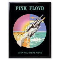 Stampa incorniciata Pink Floyd 30 x 40 cm