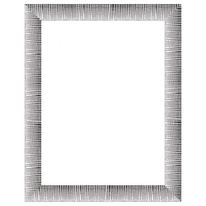 Cornice Soho argento 50 x 70 cm