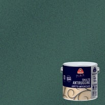 Smalto per ferro antiruggine Boero nero  grana grossa antichizzato 2 L