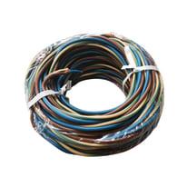 Cavo unipolare H07V-K 1 mm marrone - blu - giallo/verde, matassa 10 m