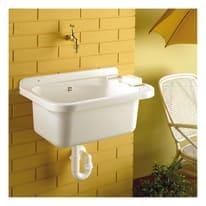 Vasca per mobile lavatoio Basic L 59,1 x P  39,5 x H 27 cm