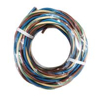 Cavo unipolare H07V-K 1 mm marrone - blu - giallo/verde, matassa 25 m