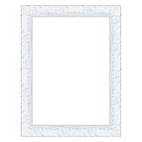 Cornice Sylvia bianco 25 x 35 cm