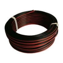 Cavo HI-FI 03VH-H Lexman nero/rosso, matassa 10 m