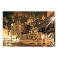 quadro su tela Bologna piazza Nettuno 90x135
