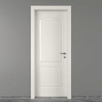 Porta da interno battente Ipanema bianco 80 x H 210 cm sx