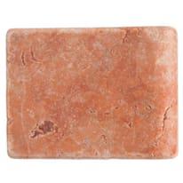 Piastrella con bordo Marmo rosso 10 x 13 cm
