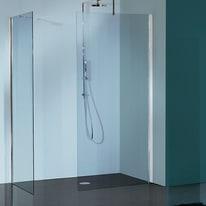 Doccia walk-in Free 30 96, H 193 cm cristallo 6 mm trasparente/cromo