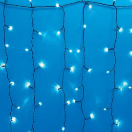 Tenda luminosa 1000 Led bianca fredda 10 m