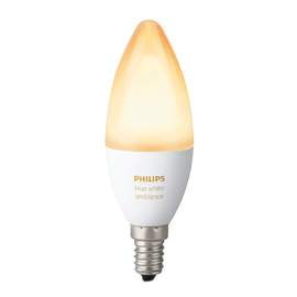 Lampadina smart LED Philips Hue E14 =40W oliva luce CCT 220°