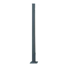 Palo per angolo recinzione da tassellare H 120 cm