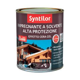 Impregnante a solvente 8 anni Syntilor noce cerata 0,75 L