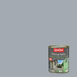 Vernice per esterno ad acqua Syntilor Rinnova Tutto grigio 0,75 L