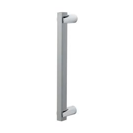 Maniglia per porta scorrevole quadra senza serratura