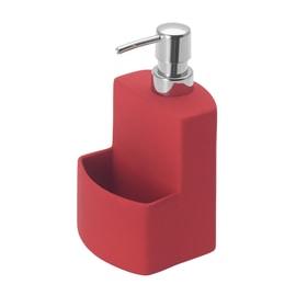Porta sapone Festival rosso L 10 x P 10 x H 18 cm
