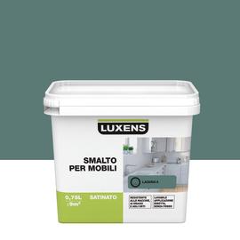 Smalto Per mobili Luxens Verde Laguna 5 satinato 0,75 L
