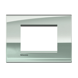 Placca 3 moduli BTicino Livinglight Air palladio