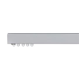 Binario futura singolo 1 via alluminio 200 cm