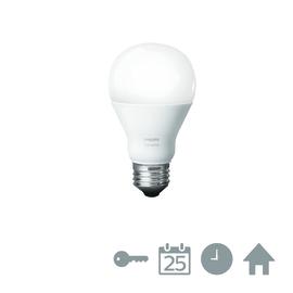 Lampadina LED Philips Hue E27 =60W goccia luce calda 180°