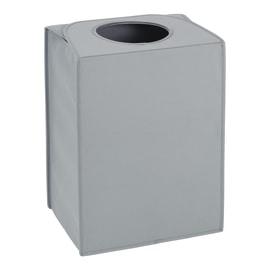 Portabiancheria Laundry Bag Rectangular grigio 55 L