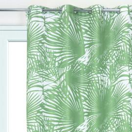 Tenda Palme verde 140 x 280 cm