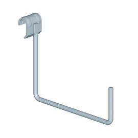 Gancio per barra Element System bianco ø 8 cm