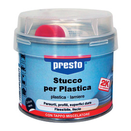 Stucco per Plastica Presto nero 250 g