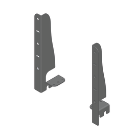 Kit fissaggio e regolazione anta per cesto estraibile da 45/60/90 cm