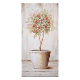 Quadro in legno Albero Rosa 30x60