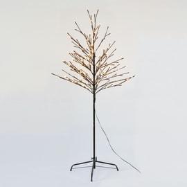 Albero natalizio luminoso 200 classica gialla H 150 cm