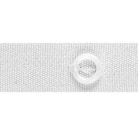 Fettuccia per tende a pacchetto con anelli 150 m x 16 mm