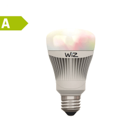 2 lampadine smart LED Wiz E27 =60W goccia multicolore (RGB)
