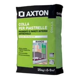 Colla in polvere Axton C1 bianco 25 kg