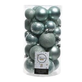 Box sfere grigio perla misure assortite