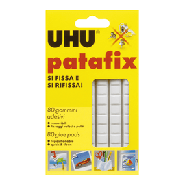 Gomma adesiva Patafix bianco 175 x 180 mm
