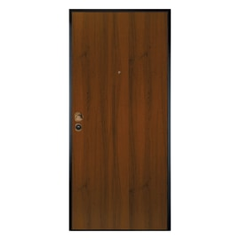Porta blindata Alarm noce L 80 x H 200 cm sx
