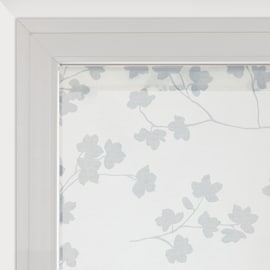 Tendina a vetro per finestra Lilly panna 45 x 150 cm