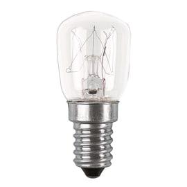 2 lampadine Osram per frigo E14 10W luce calda