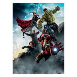 Fotomurale Avengers age multicolor 184 x 254 cm