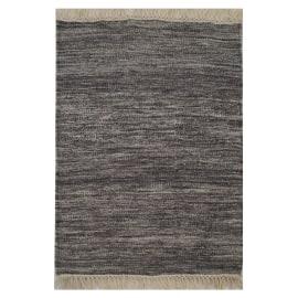 Tappeto Kilim grigio 120 x 170 cm
