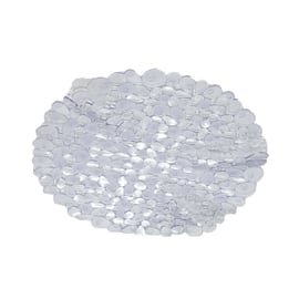 Tappeto antiscivolo doccia Stones trasparente