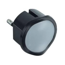 Adattatore Luce emergenza semplice schuko, BTicino grigio