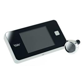 Spioncino digitale per porte blindate Yale Standard bianco