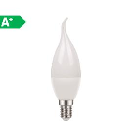 Lampadina LED Lexman E14 =40W colpo di vento luce naturale 250°