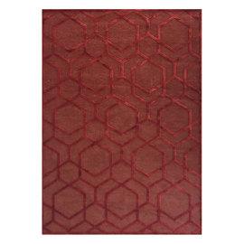 Tappeto Farashe ruggine mattone 160 x 230 cm