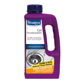 Gel Starwax Sturalavandini soda caustica 1 L