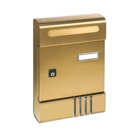 Cassetta postale componibile SE bronzo, formato lettera, L 20,4 x H 29 x P  7 cm