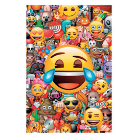 Poster Emoj collage 61 x 91,5 cm