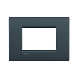 Placca 3 moduli BTicino Livinglight Air antracite